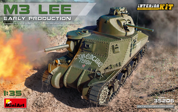 MiniArt 1/35 Scale - M3 Lee Early Production