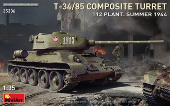 T-34/85 Composite Turret 112 Plant Summer 1944