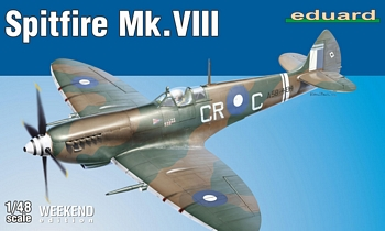Eduard 1/48 Scale - Spitfire Mk.VIII Weekend Edition
