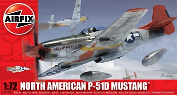 Airfix 1/72 Scale - North American P-51D Mustang